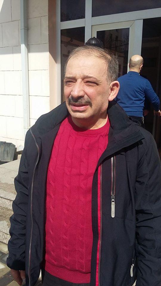 Rauf Mirqədirov azadlığa buraxıldı - FOTO