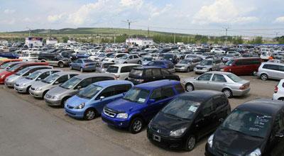 Gürcüstandan Azərbaycana avtomobil idxalı azalıb