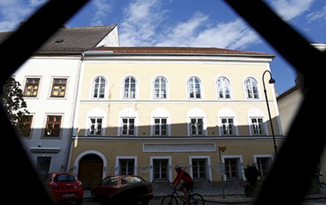 Hitlerin evi yıxılır