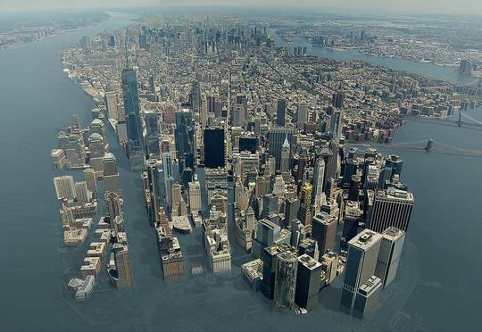 Nyu Yorkun gələcəyi – Şəhəri su basacaq (Video)