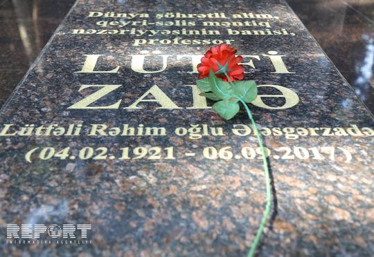 Lütfi Zadənin ölümündən bir il keçdi