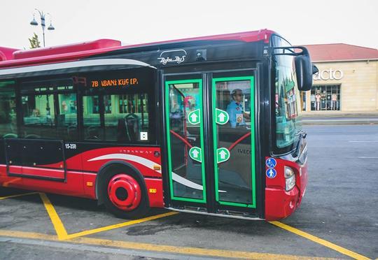 Avtobusların hərəkət sxemi dəyişdi