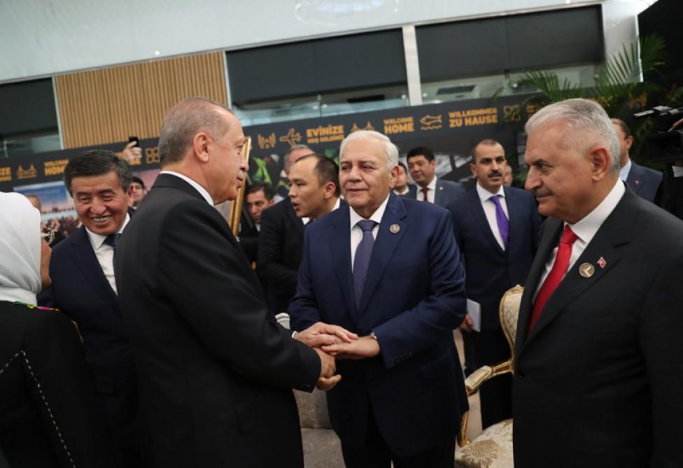 Oqtay Əsədov İstanbulda yeni hava limanının açılışında