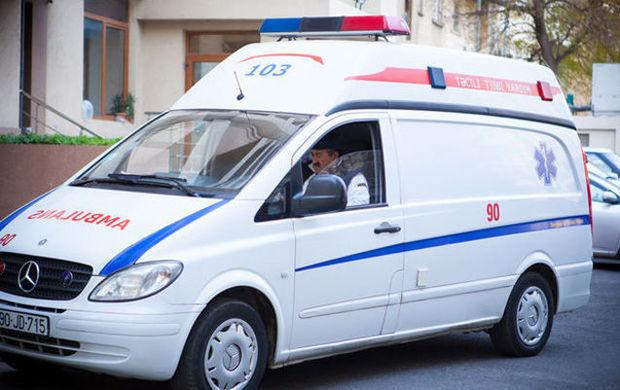 9 yaşlı uşaq yük maşınından yıxıldı