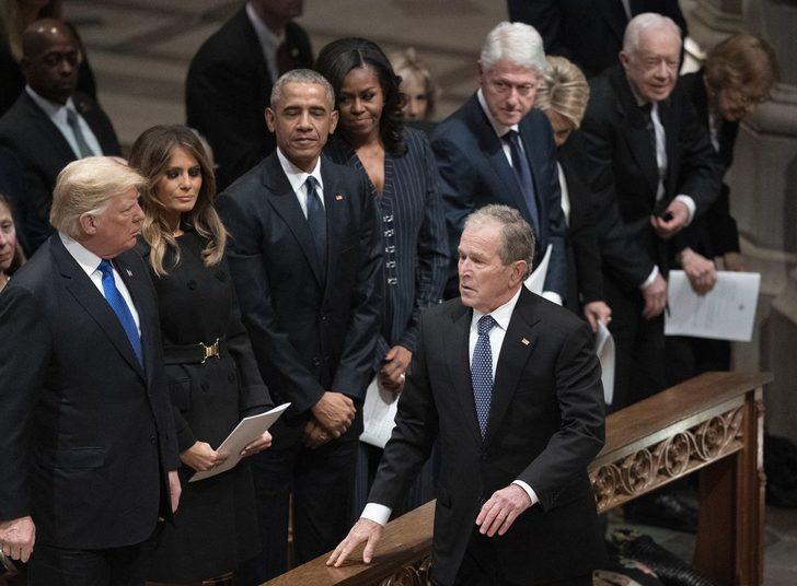 Divar ABŞ-ı ikiyə böldü – Keçmiş prezidentlər Trampa qarşı