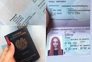 Ermənistanda transgenderə qadın olduğunu təsdiqləyən pasport verilib