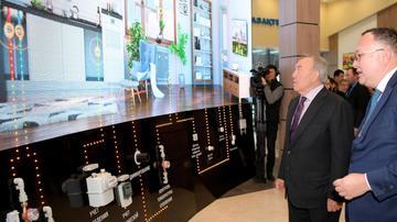 Nazarbayev ilk Smart şəhər ilə tanış oldu