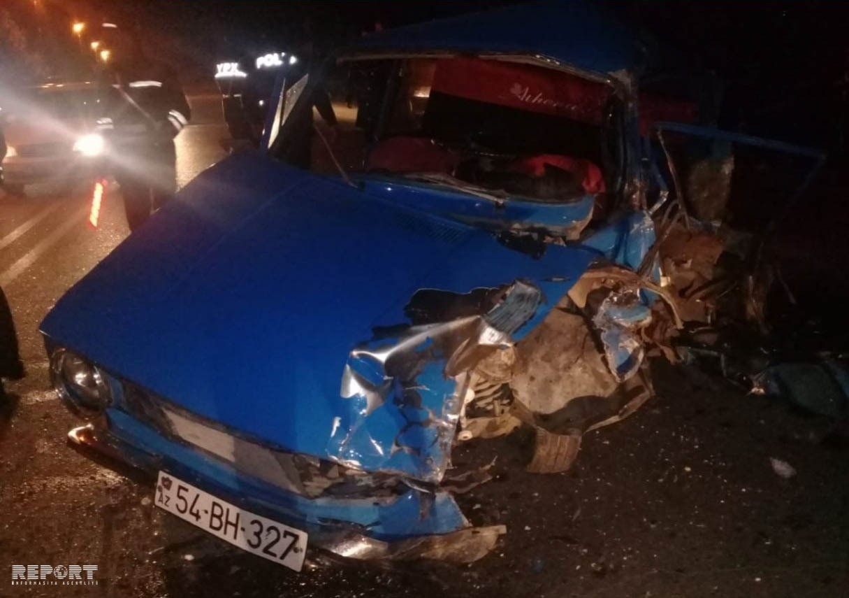 Şirvanda avtoqəzada yaralanmış sürücü xəstəxanada öldü