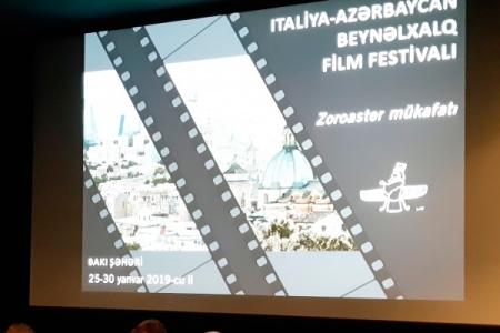 İtaliya-Azərbaycan Beynəlxalq Film Festivalı keçiriləcək