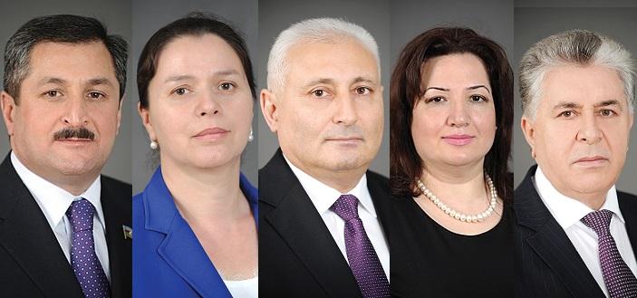 Beş deputata yeni vəzifə verilir