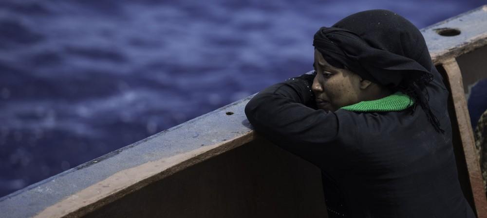 Aralıq dənizində 2275 qanunsuz miqrant batıb - Bir ildə