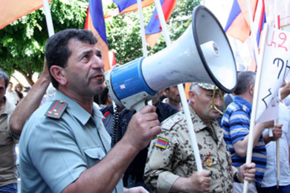 Ermənistanda növbəti etiraz aksiyası