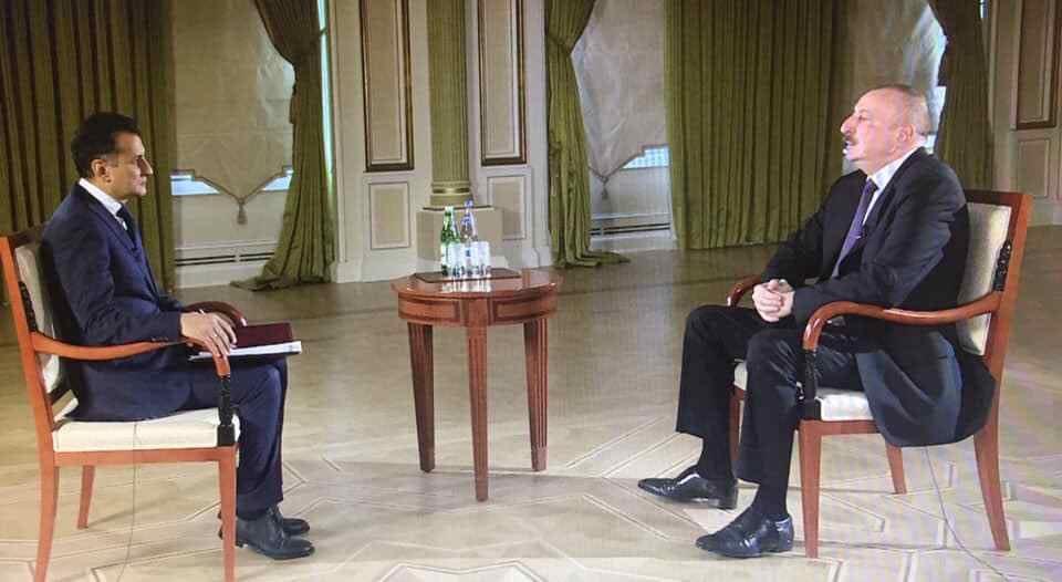 İlham Əliyev Real TV-yə müsahibə verdi