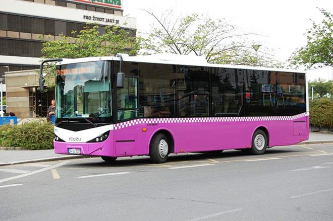 Bakıda bu avtobuslar pulsuz Wi-Fi xidmətinə qoşuldu