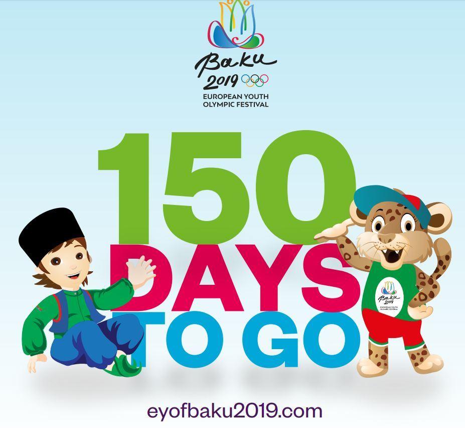 Avropa Gənclər Olimpiya Festivalının talismanları təqdim olundu