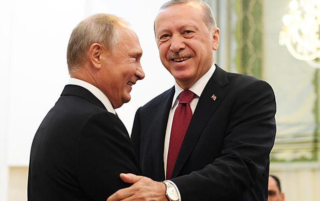 Putin Ərdoğanı təbrik etdi