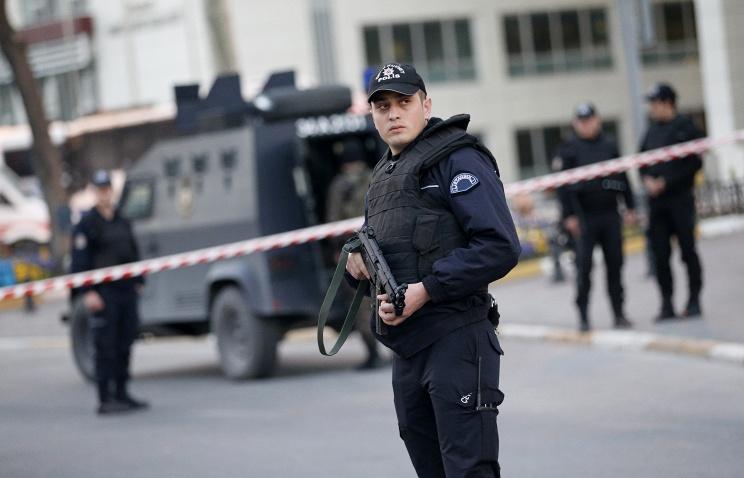Ankarada güclü partlayış oldu