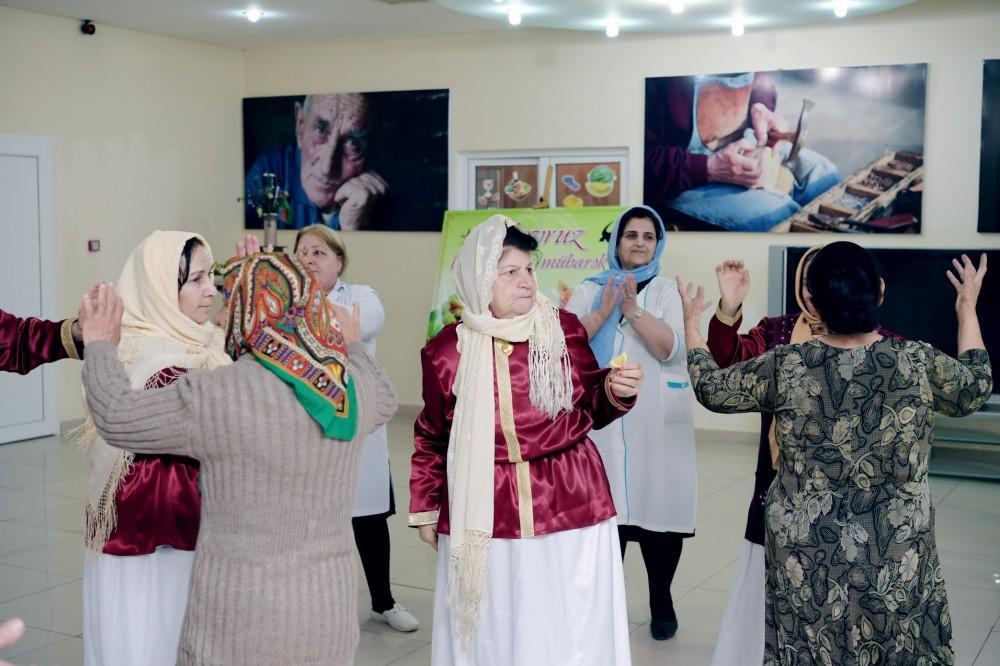Heydər Əliyev Fondu Novruz şənliyi təşkil edib