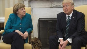 Merkel və Tramp telefonla danışıblar