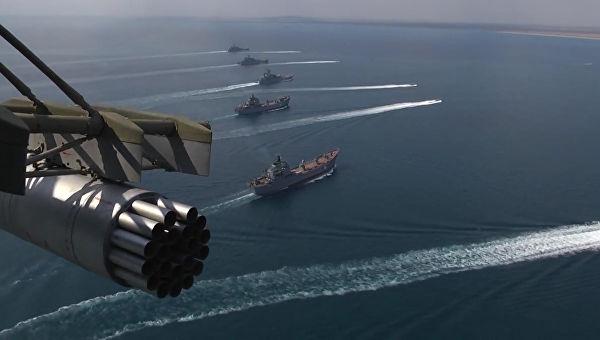 Rusiya gəmiləri NATO təlimlərini izləyir