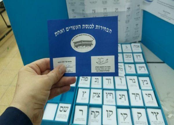 İsraildə seçkilərin yekun nəticələri açıqlandı