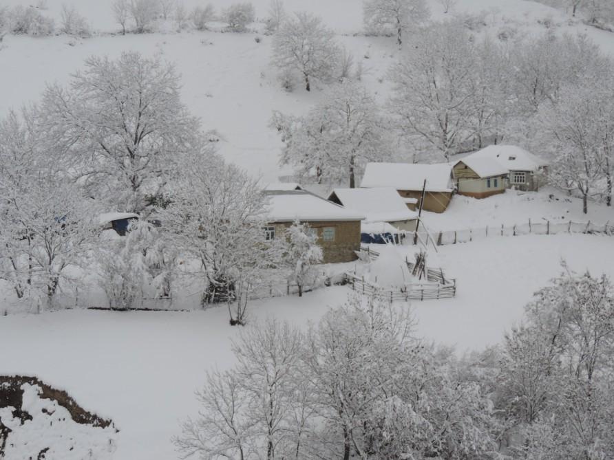 Azərbaycanın dağlıq ərazilərində temperatur mənfi 8 dərəcəyə düşdü