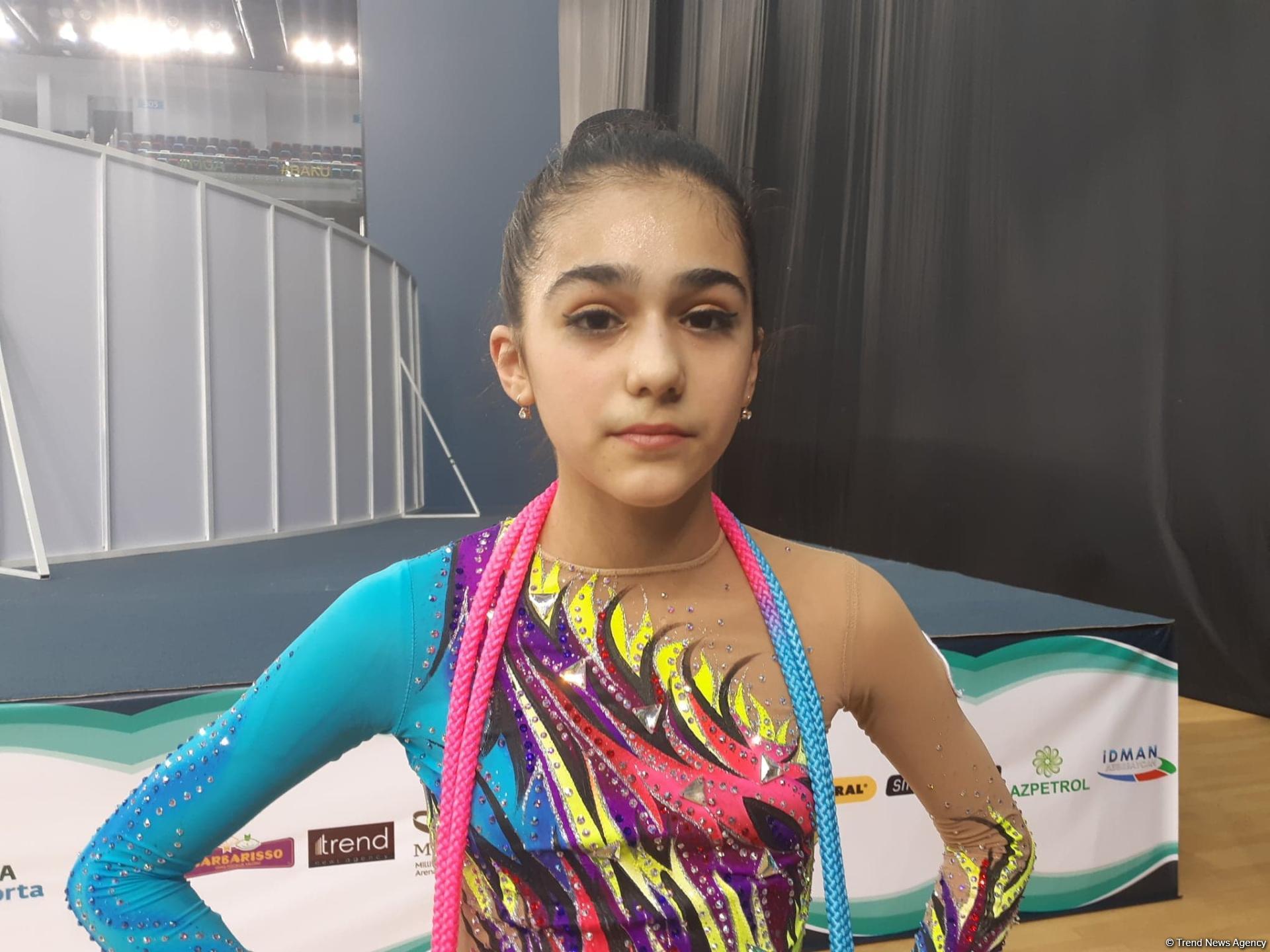 Azərbaycan gimnastı: Azarkeşlərin fəal dəstəyi bizə çox kömək edir