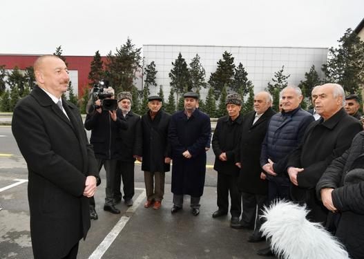 Prezident Mərdəkan-Qala avtomobil yolunun açılışında iştirak etdi -
