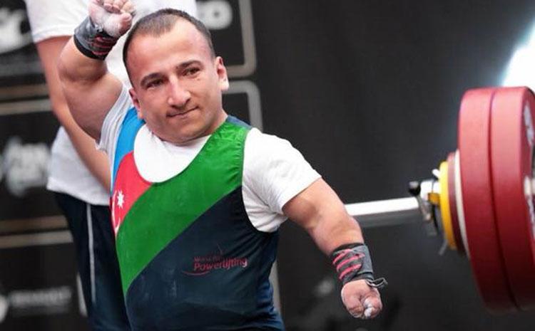 Azərbaycanlı paralimpiyaçı Dünya Kubokunda qızıl medal qazandı