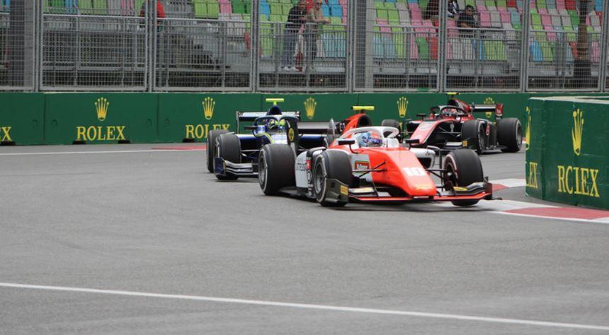 """Bakıda """"Formula 2"""" üzrə sərbəst yürüşə start verildi"""