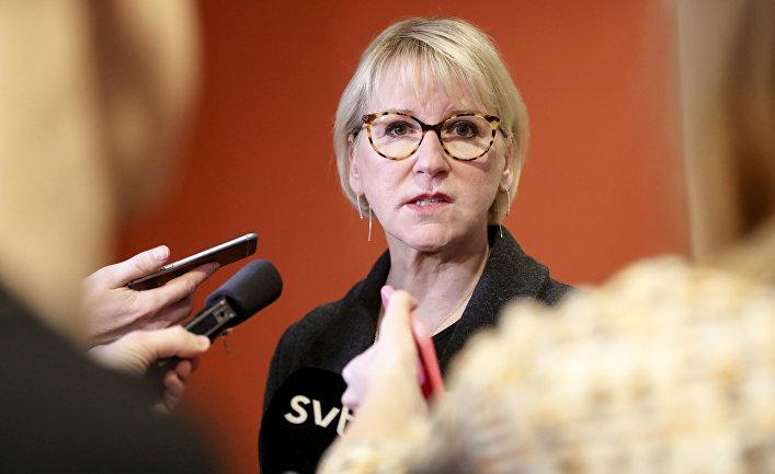ABŞ ilk dəfə Avropa İttifaqını düşmən adlandırdı - İsveçin xarici işlər naziri