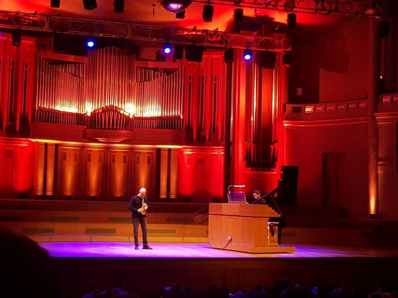 İsfar Sarabski Brüsseldə konsert verdi