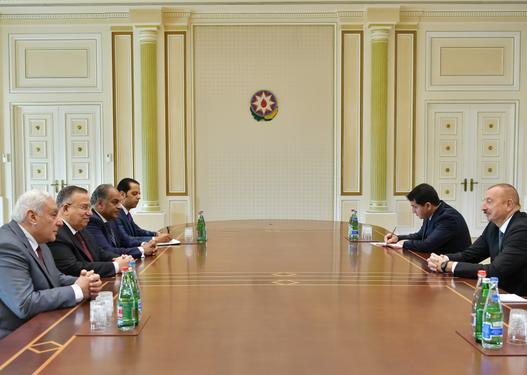 İlham Əliyev Misirin Nümayəndələr Palatası sədrinin birinci müavini ilə görüşdü