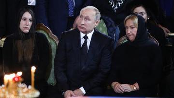 Putin Lujkovla vida mərasimində iştirak etdi