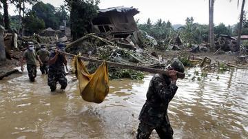 Filippində qasırğa: 28 ölü, 12 itkin var