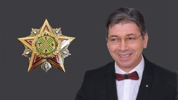 "Professor Ferhad Turanlı ""Tenqri Ulduzu"" ordeni ilə təltif edildi - FOTO"