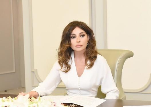 Mehriban Əliyeva şəhid ailələrinin ev probleminin həlli ilə bağlı göstəriş verib