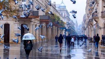 Sabah Bakıda yağış yağacaq