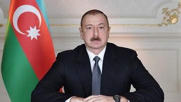 Prezident İlham Əliyevdən təbrik məktubu