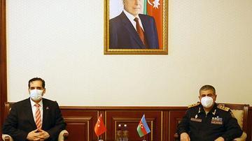 Zakir Həsənov Erkan Özoral ilə görüşüb