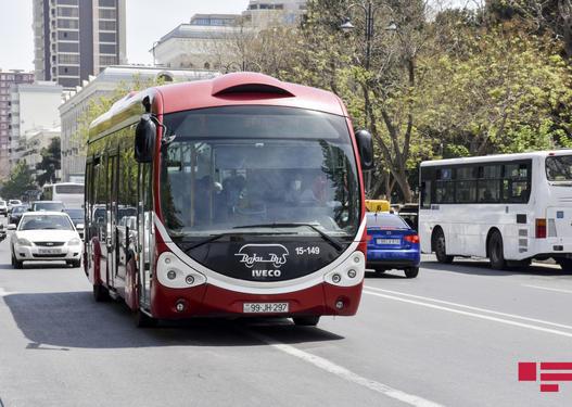 Marşrut avtobuslarının hərəkət sxemi dəyişdiriləcək