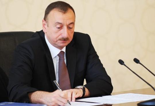 Prezident yeni FƏRMAN İMZALADI