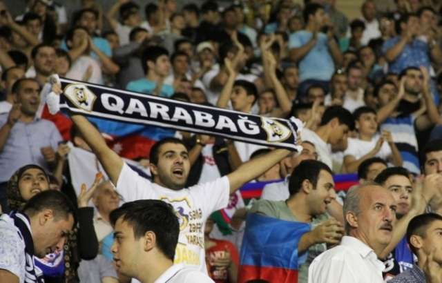"""""""Qarabağ"""" azarkeşlərindən möhtəşəm XAREOGRAFİYA gəlir: 20 000 azarkeş..."""